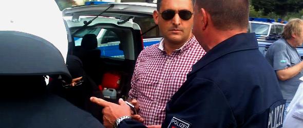 """Gefährliche Körperverletzung: Polizei schließt Lars Seidensticker von """"Pro Deutschland""""-Kundgebung aus"""