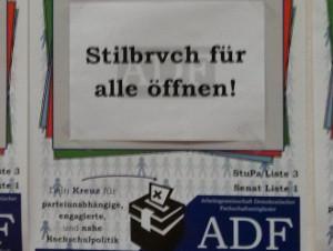 Stilbrvch: Andeutungen der ADF