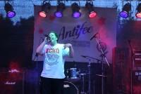Badkat am Freitagabend auf dem Antifee 2014