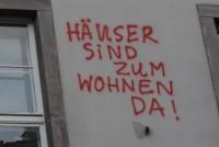 Am 17. Juni 2014 wurde das Wohnheim in der Geiststraße erneut besetzt.