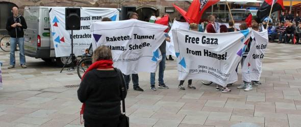 israel kundgebung