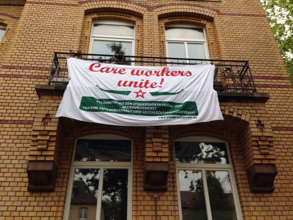 Transpi Care Workers Unite