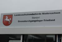 Die Erstaufnahmeeinrichtung in Friedland ist völlig überlastet (Symbolbild)