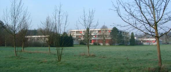 Das frühere Max-Planck-Institut für Sonnensystemforschung in Lindau