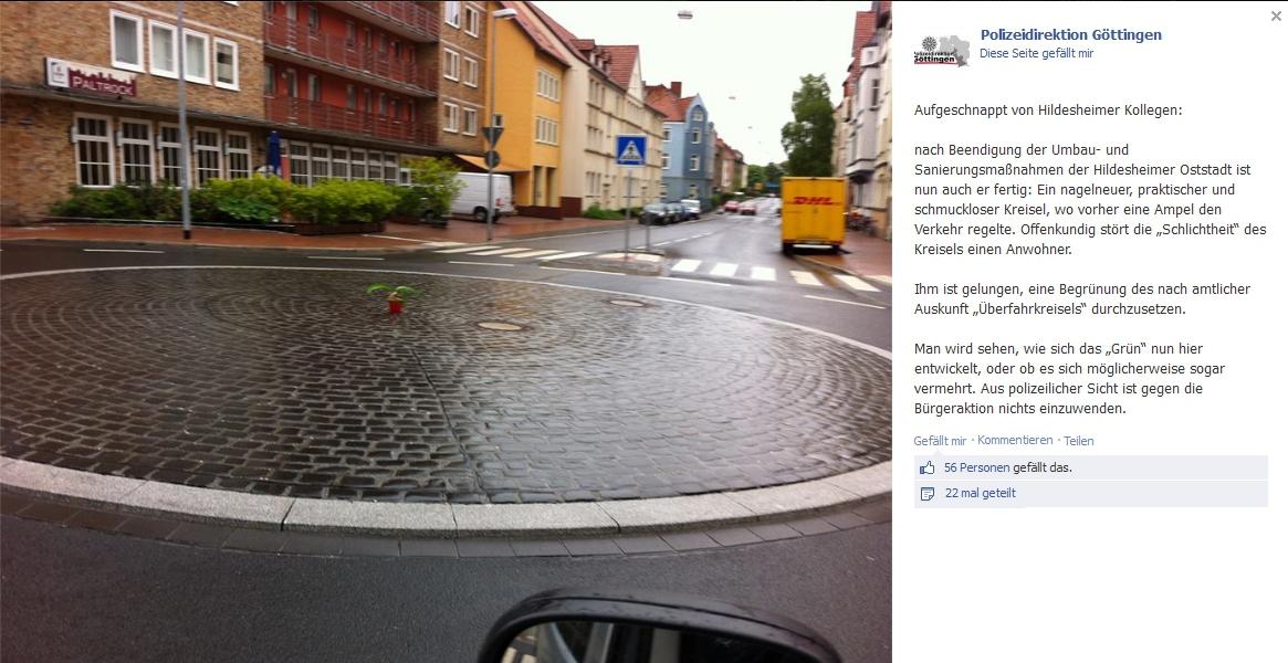 Polizei Göttingen Facebook