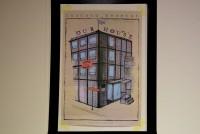 Plakat des besetzten Hauses OM10. Findet sich nun auch verschiedentlich in der Innenstadt.